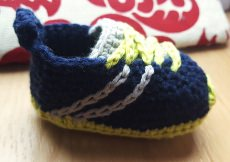 Baby Sneakers Turnschuhe gehäkelt kaufen