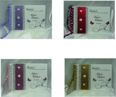 Gästebuch zur Hochzeit Farbwahl mit Namen/Datum handgefertigt