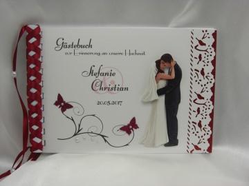 Gästebuch zur Hochzeit Nr. G006 viele Farben
