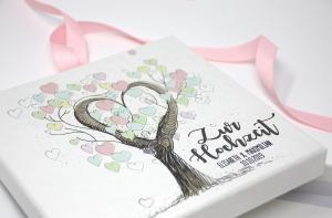 Geldgeschenk - Geld Verpackung - zur Hochzeit Tree of Love