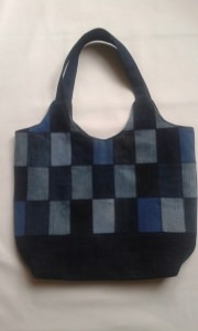 Jeans - Patchwork - Shopper