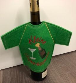 Lustiges Flaschen T-Shirt Geniale Idee für jeden Anlass/ Geschenke Handarbeit   Geschenkidee Stickerei - Handarbeit kaufen