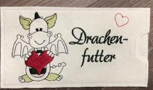 Schokihülle Schokoladenhülle/ Schokitasche/ Schokiverpackung Handarbeit Valentinstag Drachenfutter - Handarbeit kaufen