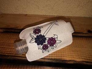 Taschenbaumler/ Schlüsselanhänger, Anhänger für Desinfektionsmittel Anker  - Handarbeit kaufen