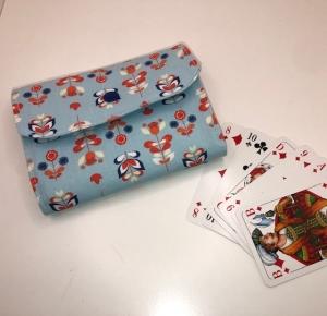 Kartenspieletui, Kartenhülle, Spielkarten, Spiel-Kartenetui Camper, Kinder, handarbeit - Handarbeit kaufen