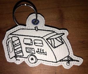 Schöne Schlüsselanhänger Camper/ Wohnmobil/ Wohnwagen  - Handarbeit kaufen