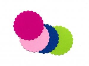 50 Geschenkanhänger Etiketten Tag Papieranhänger - Freie Farbwahl -