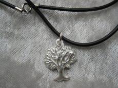 Baum des Lebens - Anhänger aus 999 Silber Unikat Handarbeit