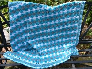 Häkelanleitung für eine Decke - Babydecke Summer 2017 - Handarbeit kaufen