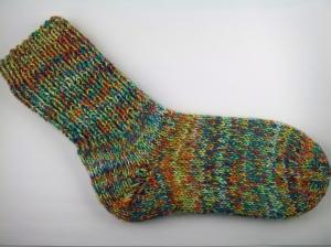 handgestrickte extra dicke Socken in Größe 40/41 Karneval