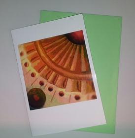 - Sonnenrad - Grußkarte  - ein kleines Kunstwerk für jede Gelegenheit