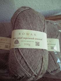 500 Gramm Rowan pure wool superwash worsted