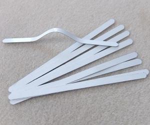10x Metallbügel, Nasenbügel für Behelfsmasken - Handarbeit kaufen