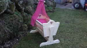 Puppen-Wiege - Handarbeit kaufen