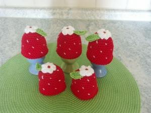 Eierwärmer - Erdbeere