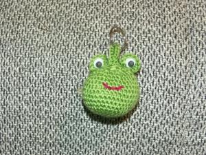 Schlüsselanhänger - Frosch - Handarbeit kaufen
