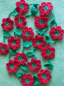 Blumengirlande - 135cm - Handarbeit kaufen