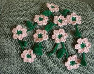 Blumengirlande - 80cm
