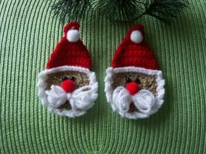 Weihnachtmann  2er - Set - Handarbeit kaufen