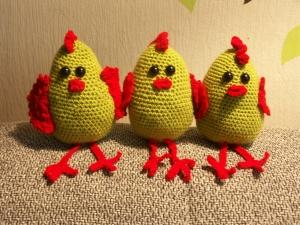 Kantenhocker - Huhn - Handarbeit kaufen