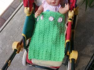 Puppenwagendecke 33cm x 28cm - Handarbeit kaufen