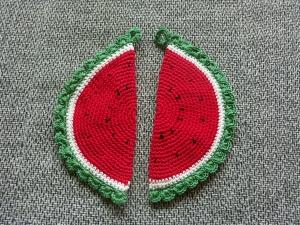 Topflappen Melone - Handarbeit kaufen