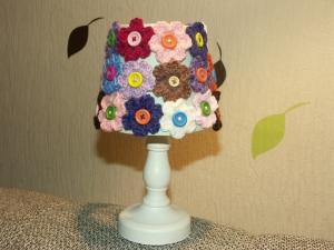 Lampe mit Blumen - Handarbeit kaufen