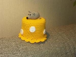Toilettenpapierhut - Maus