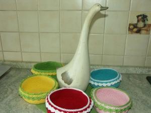 Osterkörbchen in 5 Farben - Handarbeit kaufen