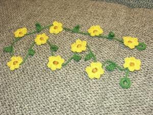 Blumengirlande 110 cm - Handarbeit kaufen