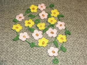 Blumengirlande 160 cm - Handarbeit kaufen