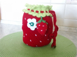 Erdbeerbeutel - Handarbeit kaufen