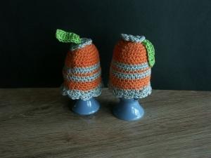 Eierwärmer - bunt  2 Stück - Handarbeit kaufen
