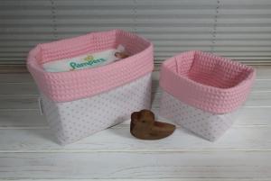 Utensilo Set aus Stoff Windelutensilo - z.B.praktische Aufbewahrung für Windeln Wäsche und Spielsachen