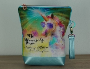 Projekttasche Handarbeitstasche UNICORN *be yourself*