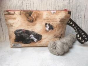 Projekttasche Handarbeitstasche Hundefreunde - Handarbeit kaufen