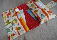 Windeltasche Wickeltasche Basic 3 Fächer mit Zusatzoptionen