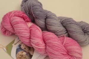 Handgefärbte Wolle Baby-Merino Set Nr. 97 Pascuali von Farbenspielerei
