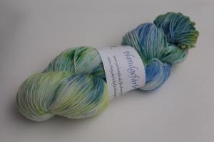 Handgefärbte Kuschel-Sockenwolle SGw12 (nicht nur für Socken) von Farbenspielerei - Handarbeit kaufen