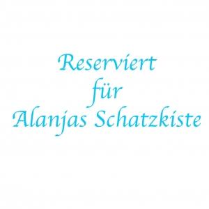 - Reserviert für Alanjas Schatzkiste - Handgefärbter Kammzug Nr. 208 von Farbenspielerei