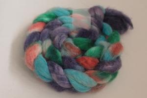 Handgefärbter Kammzug BFL-Nylon Nr. 187 von Farbenspielerei - Handarbeit kaufen