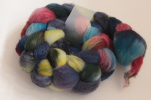 Handgefärbter Kammzug Southdown Nr. 186 von Farbenspielerei - Handarbeit kaufen