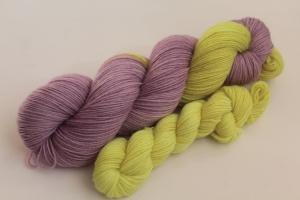 Handgefärbte klassische Sockenwolle 4-fädig Set O-20/8 von Farbenspielerei - Ostersonderedition -