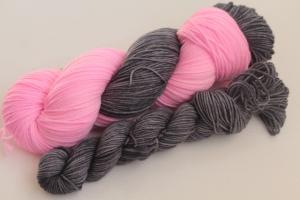 Handgefärbte Luxus-Sockenwolle Set O-20/9 von Farbenspielerei - Ostersonderedition -