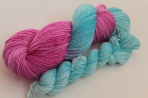 Handgefärbte Luxus-Sockenwolle Set O-20/11 von Farbenspielerei - Ostersonderedition -
