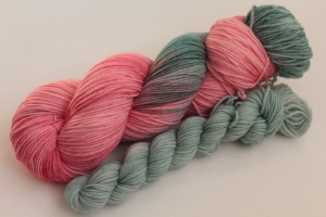 Handgefärbte Luxus-Sockenwolle Set O-20/12 von Farbenspielerei - Ostersonderedition -