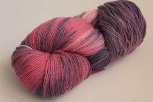 Handgefärbte Kuschel-Sockenwolle Nr. 144 (nicht nur für Socken) von Farbenspielerei - Handarbeit kaufen