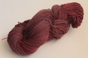 Handgefärbte Kuschel-Sockenwolle Nr. 118 (nicht nur für Socken) von Farbenspielerei