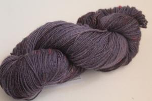 Handgefärbte Sockenwolle Tweed 4-fädig Nr. 261 von Farbenspielerei - Pflanzengefärbt