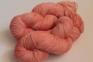 Handgefärbte Wolle Merino-Seide-Leinen Nr. 298 für Socken und mehr von Farbenspielerei